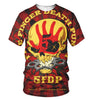 Image of Five Finger Death Punch 3D Allover Printed 3