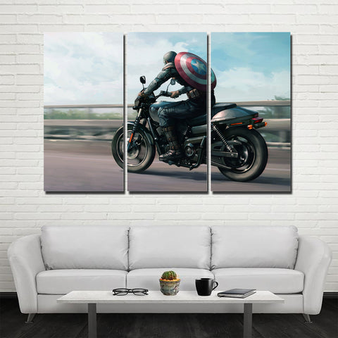 3Pcs Harley Canvas 2