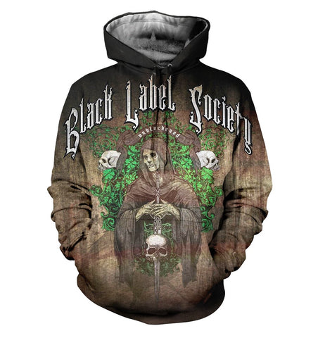 Black Label Society 3D Allover Printed 1