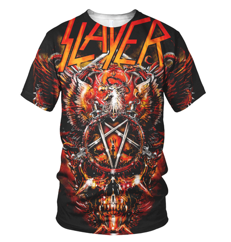 Slayer 3D Allover Printed 4
