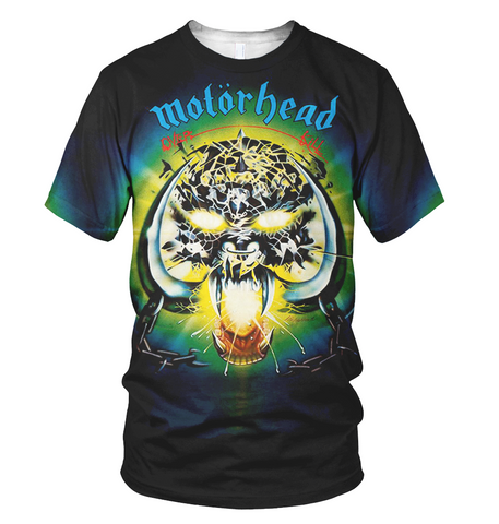 Motorhead 3D Allover Printed 4