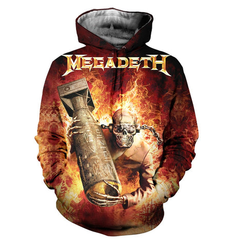 Megadeth 3D Allover Printed 4