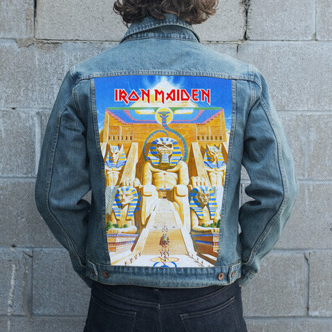 Iron Maiden Jean Jacket 4