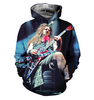 Image of Dimebag Darrell 3D Allover Printed Hoodie 1