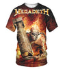 Image of Megadeth 3D Allover Printed 4