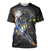 Image of Valentino Rossi 3D Allover Printed 2