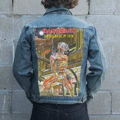 Iron Maiden Jean Jacket 5