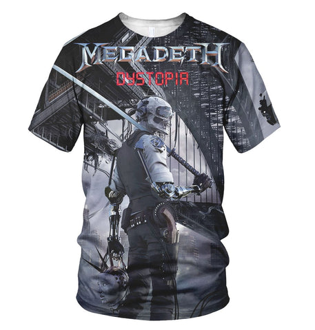 Megadeth 3D Allover Printed 5