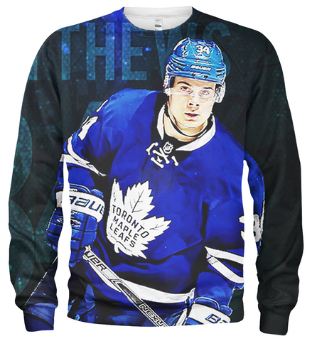 Auston Matthews 3D Allover Printed Hoodie 1