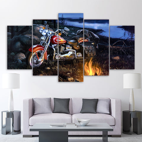 5Pcs Harley Canvas 1