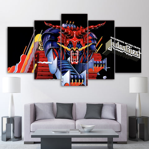 5Pcs Judas Priest Canvas 1