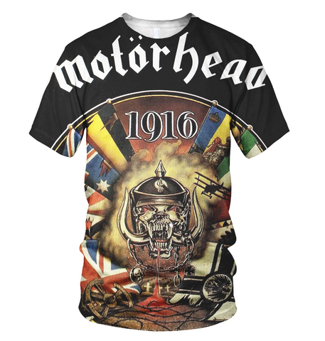 Motorhead 3D Allover Printed 6