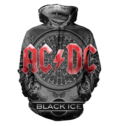 AC/DC 3D Allover Printed 6