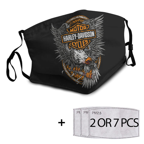 Harley Reusable Mask with PM2.5 Filter - 6