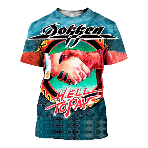 Dokken 3D Allover Printed 6