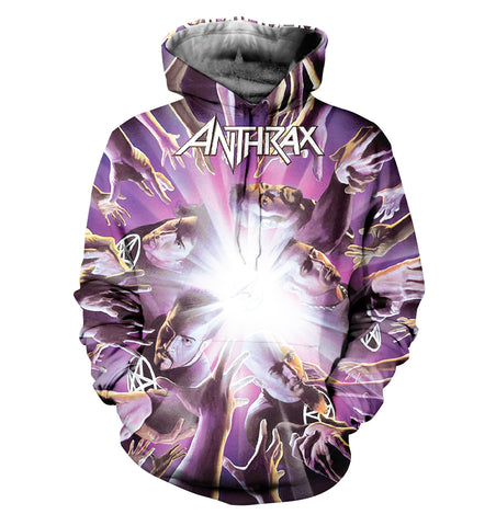 Anthrax 3D Allover Printed 7