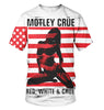 Image of Motley Crue 3D Allover Printed 7