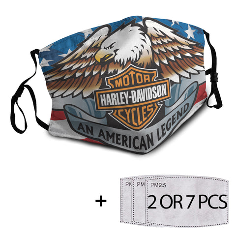 Harley Reusable Mask with PM2.5 Filter - 7