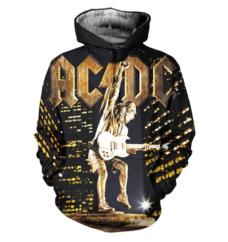 AC/DC 3D Allover Printed 8