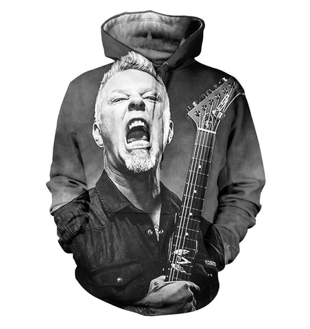 Metallica 3D Allover Printed 8