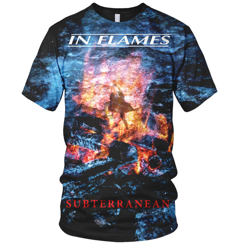 In Flames 3D Allover Printed 9