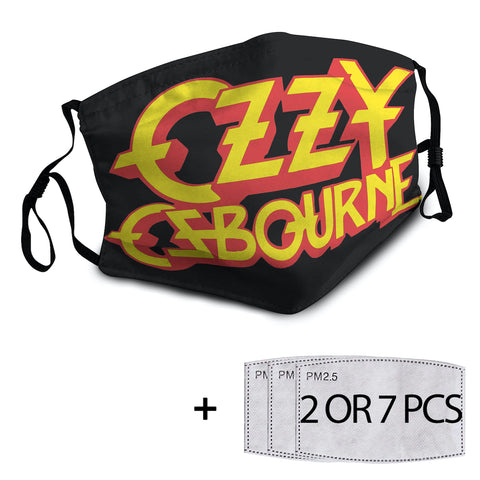 Ozzy Osbourne Mask with PM2.5 Filter - 1