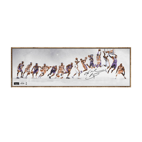 Kobe Bryant's 8 to 24 Evolution Canvas - Limited Edition