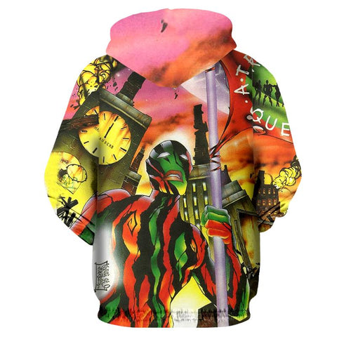 ATCQ 3D Allover Printed Hoddie