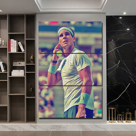 3Pcs Nadal Canvas 1