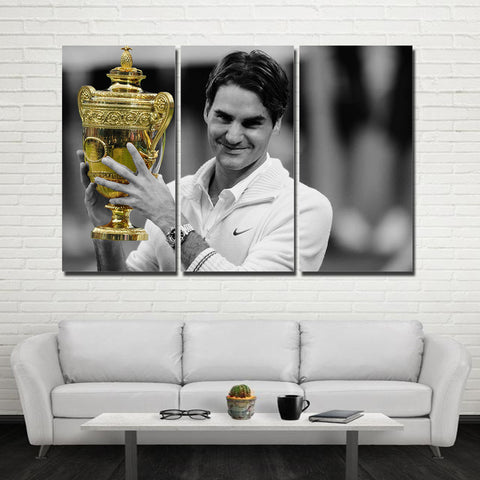 3Pcs Federer Canvas 1