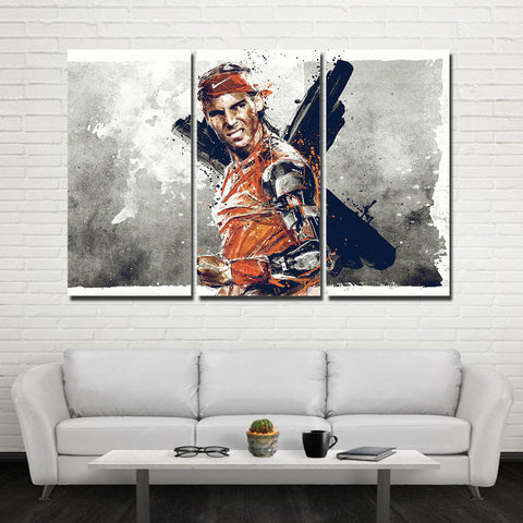 3Pcs Nadal Canvas 2
