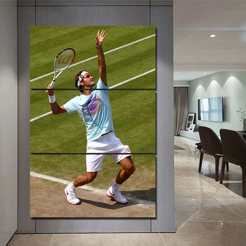 3Pcs Federer Canvas 2
