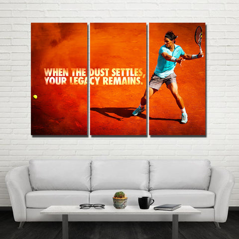 3Pcs Nadal Canvas 6