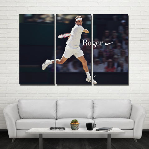 3Pcs Federer Canvas 6