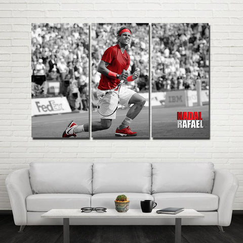 3Pcs Nadal Canvas 7