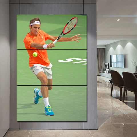 3Pcs Federer Canvas 8