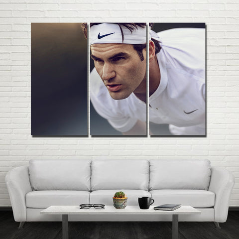 3Pcs Federer Canvas 9
