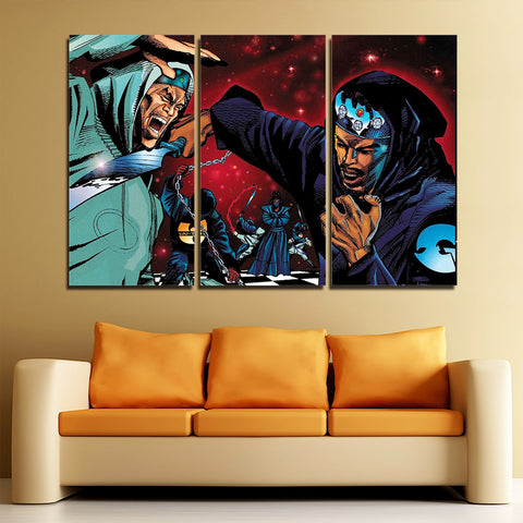3Pcs Wu Tang Canvas 2