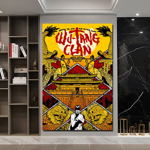 3Pcs Wu Tang Canvas 3
