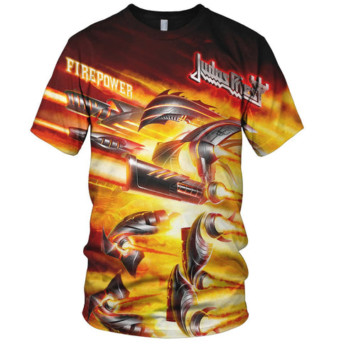 Judas Priest 3D Allover Printed 11