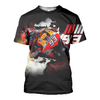 Image of Marc Marquez 3D Allover Printed Hoodie 1