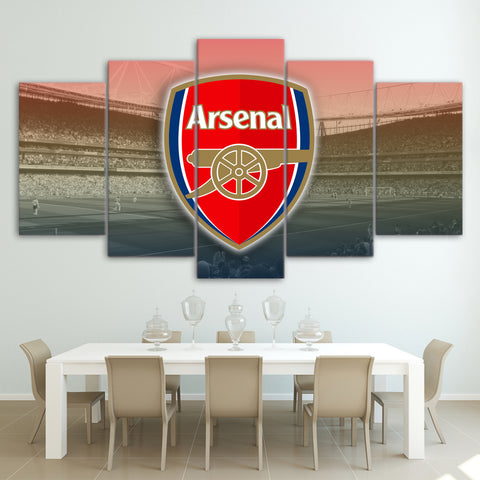 5Pcs Arsenal Canvas 1