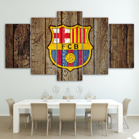 5Pcs Barca Canvas 2