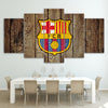 Image of 5Pcs Barca Canvas 2