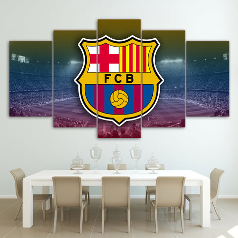 5Pcs Barca Canvas 1