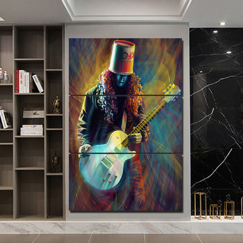 3Pcs Buckethead Canvas 1