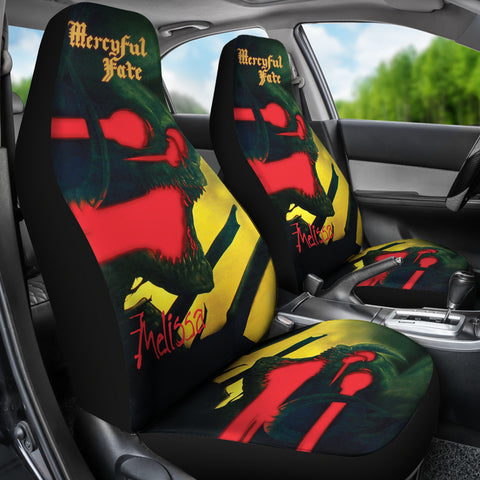 2Pcs Mercyful Fate Car Seat Covers 2
