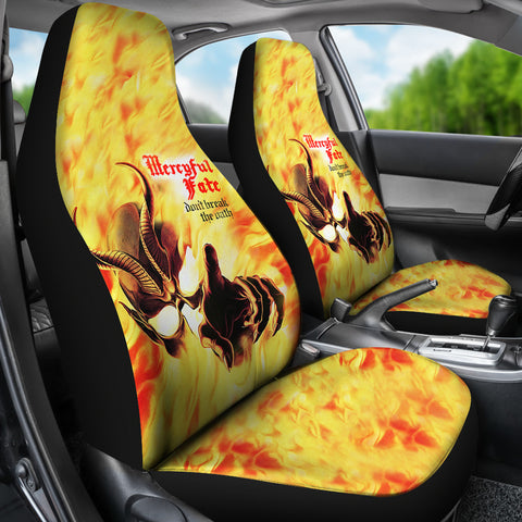 2Pcs Mercyful Fate Car Seat Covers 1