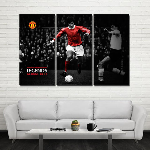 3Pcs MU Legend Geogre Best Canvas 1