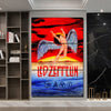 Image of 3Pcs Led Zeppelin Canvas 1